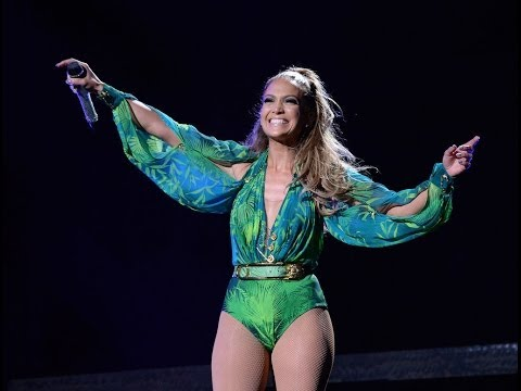 Jennifer Lopez Performs love Don't Cost A Thing i'm Into You first Love video