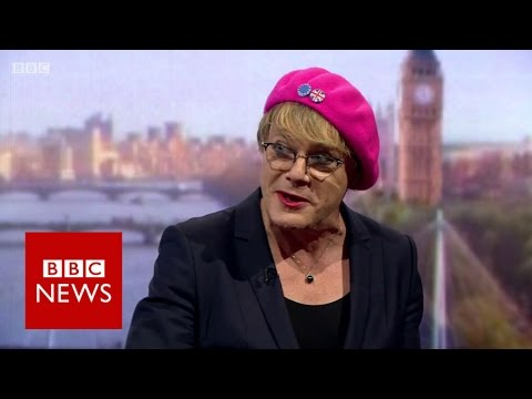 "Eddie Izzard: ""I'm a British European"" BBC News"