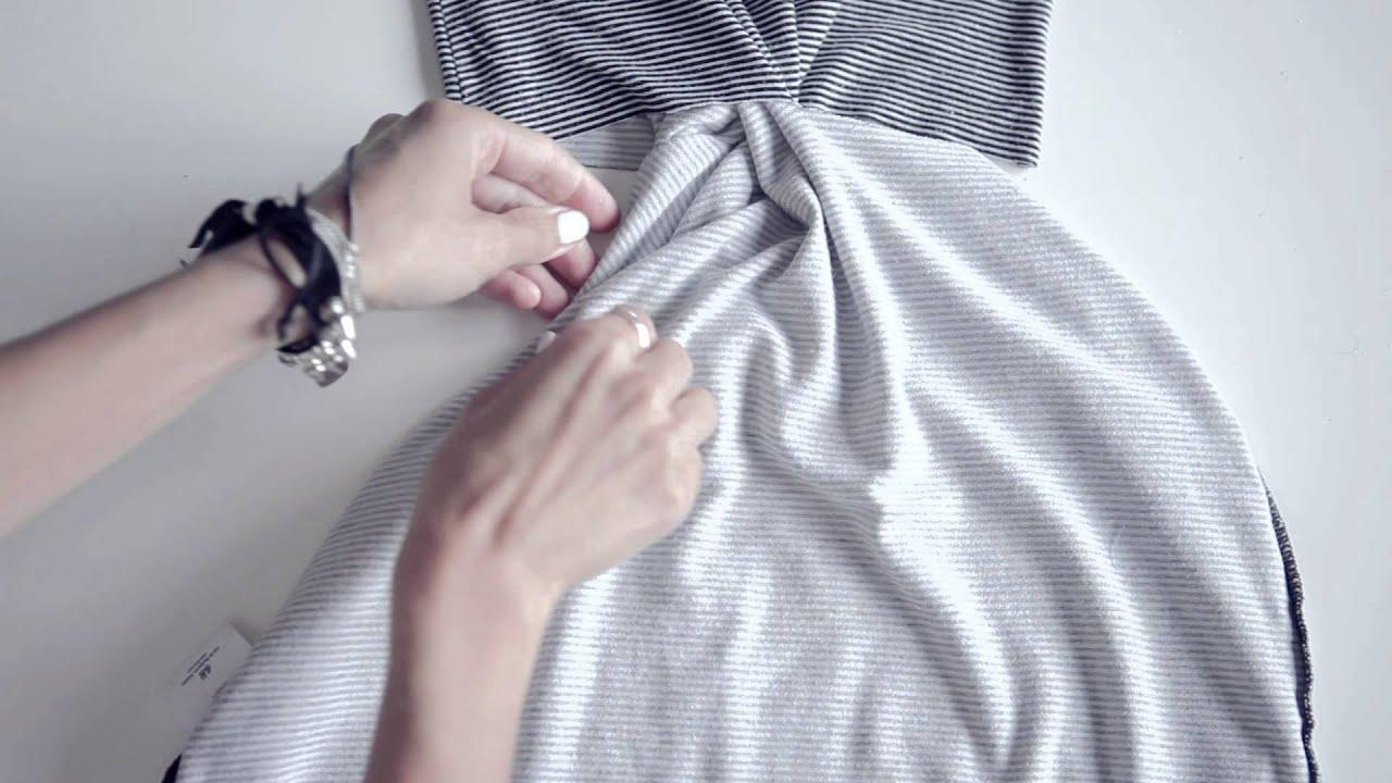 The 2 Minutes Diy Twist Dress Ari S Quick Fix Series