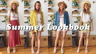 SPRING SUMMER Outfits | Thrifted Vintage & Modern | May 2019 | Tiny Acorn