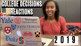 College Decisions Reactions 2019 (Stanford, Harvard, Princeton, JHU, Northwestern, and more)