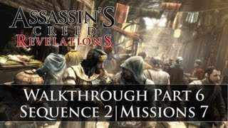 Assassins Creed - Revelations 100% Sync Walkthrough Part 6 (Sequence 2 | Memory 7)