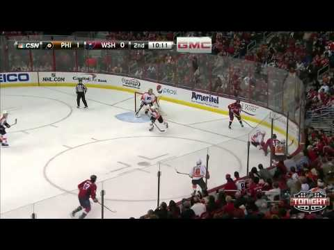 Game 53. Philadelphia Flyers vs Washington Capitals (08 february 2015)
