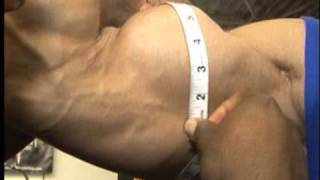 Bodybuilder biceps x 5 = 94 inches of muscle