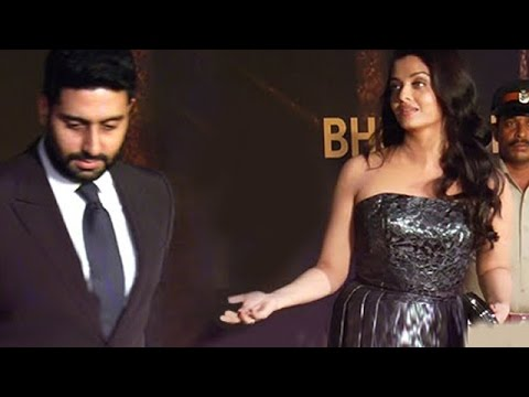 Abhishek Bachchan INSULTS Aishwarya Rai, Leaves Interview - FULL COVERAGE