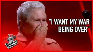 Download Lagu WAR VETERAN made The Voice coaches CRY | The Voice Global Gratis STAFABAND