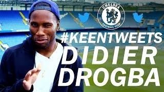 Didier Drogba Reacts To Tweets From Chelsea Fans | Keen Tweets