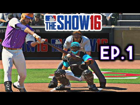 MLB The Show 16 Diamond Dynasty Ep.1 | Pack Openings & First H2H Game!