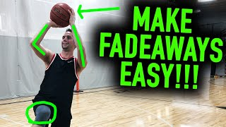 The REAL Secret to an Unstoppable Fadeaway Jumper | Basketball Shooting Tips