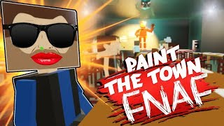 GETTING JOBS AT FIVE NIGHTS AT FREDDY'S?! (Paint The Town Red Gameplay Roleplay) RESTAURANT JOBS!