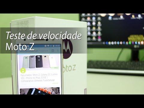 Desempenho do Moto Z | Teste de velocidade oficial do TudoCelular