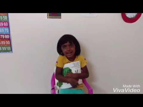Very hungry caterpillar Story : Satvi's narration thumbnail