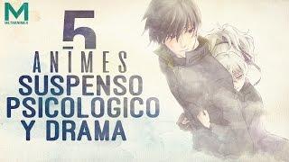 5 Animes de Drama y Suspenso Psicológico