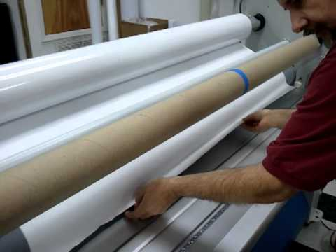 Fellers Techs Seal Laminator Threading Technique