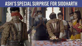 Ashi Singh's special surprise for Siddharth Nigam on the sets of Aladdin - Naam Toh Suna Hoga