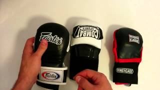 Softest MMA Sparring Gloves: Fairtex Combat vs Combat Sports Max Strike vs Ring to Cage Deluxe MiM