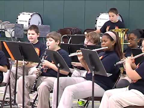 St. Tammany Parish Junior High Small Band Festival 2013