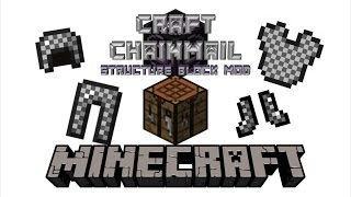 Craft Chainmail Armor | Minecraft 1.11.2 Structure Block Mod