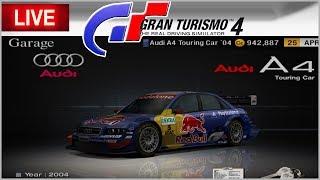 GASTEI TUDO EM USADINHOS - Gran Turismo 4  AO VIVO