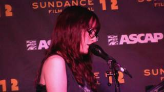 "Ingrid Michaelson- ""Keep Warm"" (720p HD) Live at Sundance on January 26, 2012"