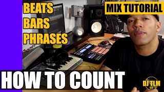 Beats, Bars & Phrases (how to count music)