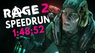RAGE 2 Speedrun in 1:48:52