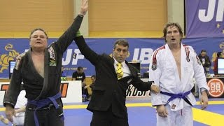 European Open BJJ 2015 final Master 5 ultra-heavy