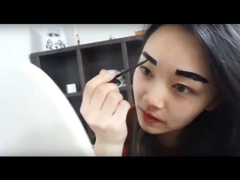 Макияж перед сном ! спальный макияж 잠자기전 아침을 위한 빠른 메이크업 |минкюнха|Minkyungha|경하