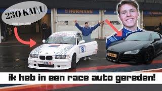 RACEN OP HET CIRCUIT & BROER ZIJN NIEUWE AUTO! | Vincent Visser