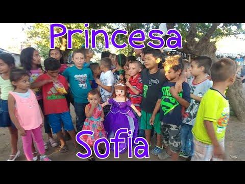A sacudir la Piñata. Si nos la hizo este Chistín😆. Cumpleaños de la princesa Sofi. Pate 6