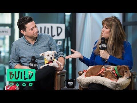 Dan Schachner & Jill Rappaport On Animal Planet's Puppy Bowl XIV