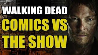 The Walking Dead: Comics vs The Show - Atlanta