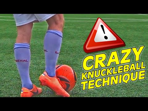 Learn The Cristiano Ronaldo Knuckle Ball Free Kick Shot Tutorial...