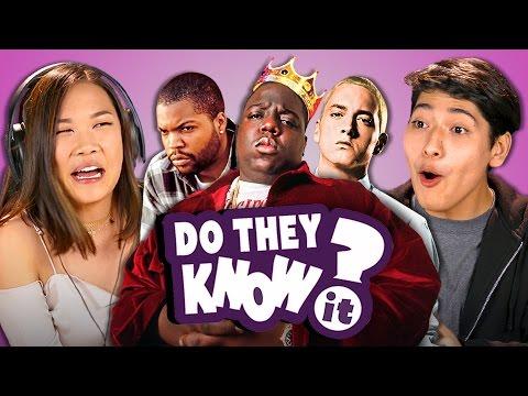 DO TEENS KNOW 90s HIP HOP? (REACT: Do They Know It?)