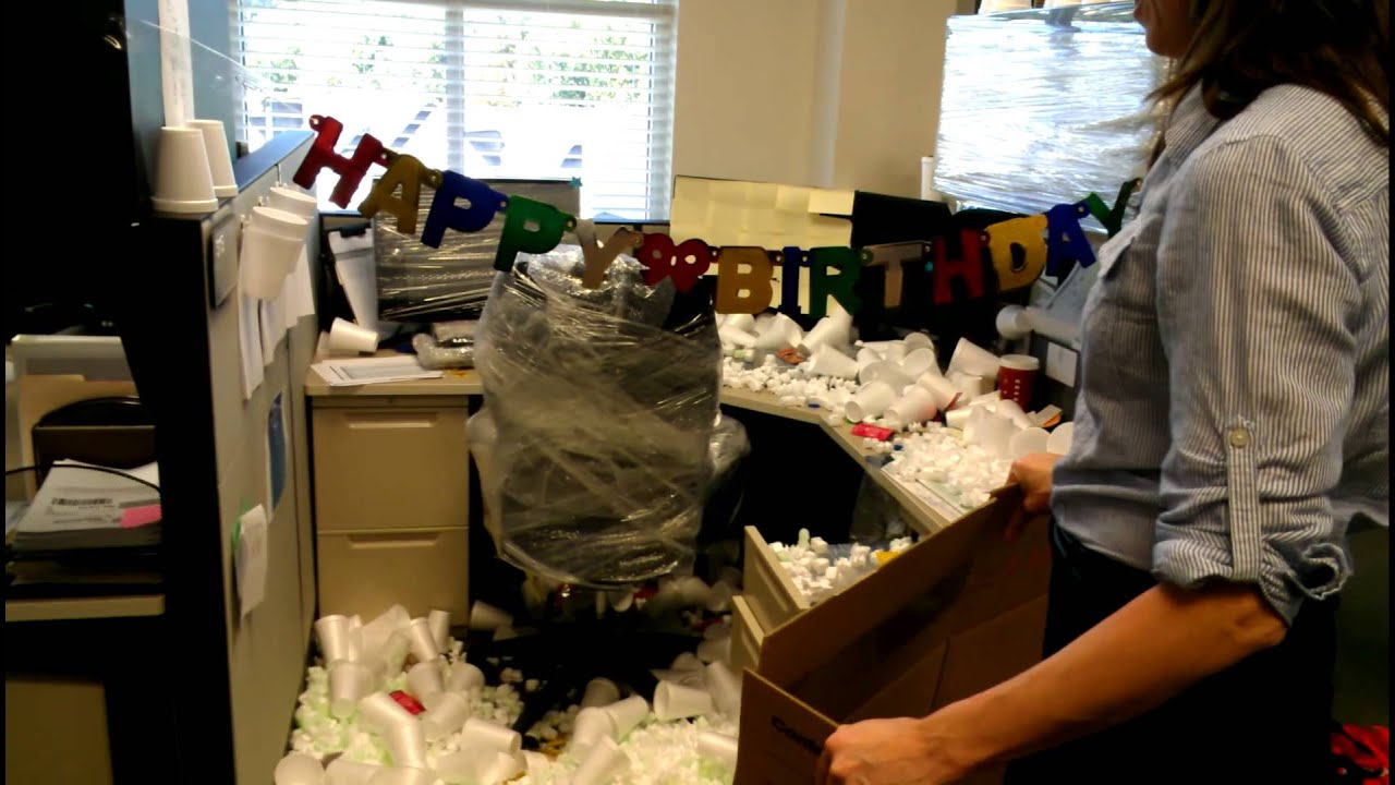 Happy Birthday Office Pranks Birthday Office Prank 10-22