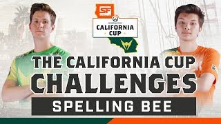 LA VALIANT CHALLENGES SF SHOCK TO A...SPELLING BEE? | California Cup Challenges