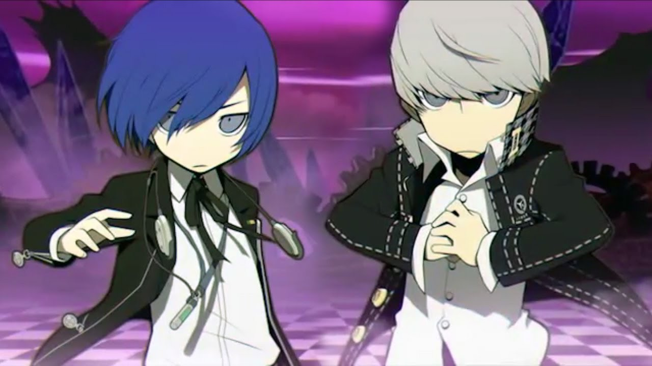Persona 5 Minato Persona q Minato And yu