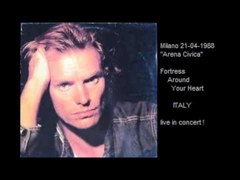 STING - Fortress Around Your Heart (Milano 21-04-88