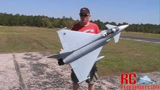 Hobby-Lobby EF2000 eRC EuroFighter Typhoon - 90mm - MAIDEN FLIGHT