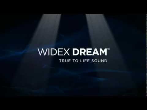 WIDEX DREAM - new hearing aid with true-to-life sound.