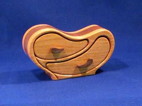 Model 4 Heart Throb Two Drawer Band Saw Box YouTube