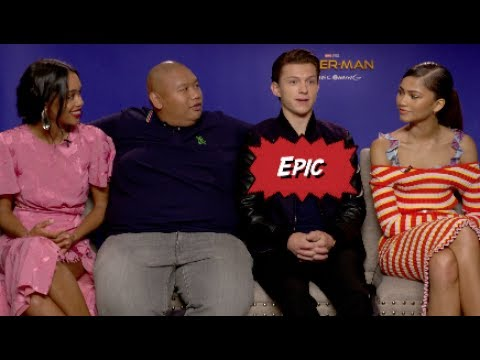Spider-Man: Homecoming cast with Scott Carty thumbnail