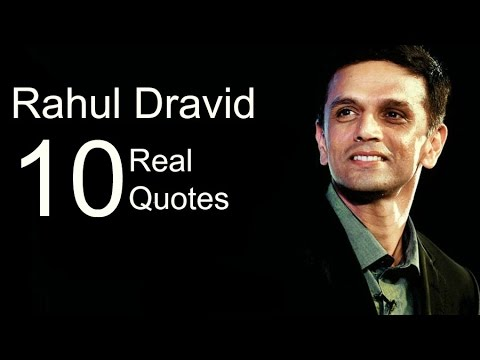 Rahul Dravid 10 Real Life Quotes on Success | Inspiring | Motivational Quotes