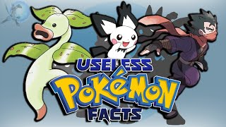 25 Useless Pokémon Facts