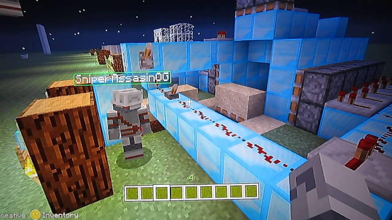 Redstone Ideas on Minecraft Xbox 360 - YouTube