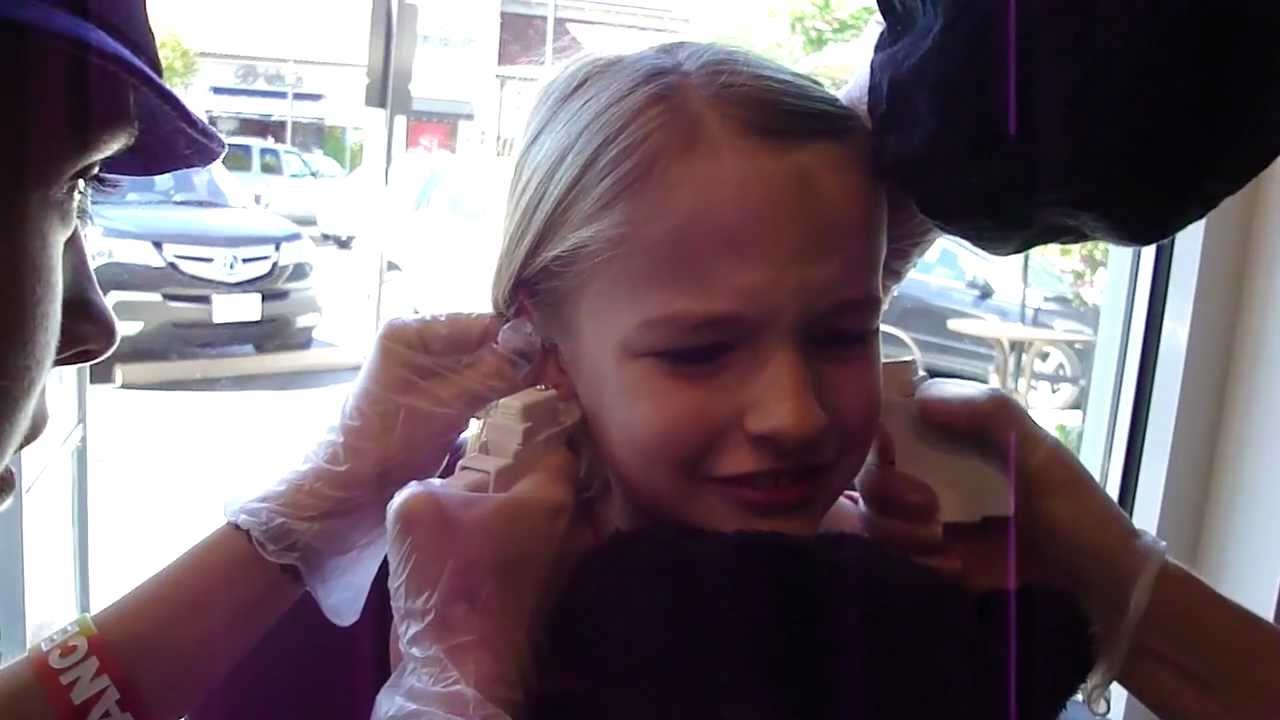 The Girls Ear Piercing