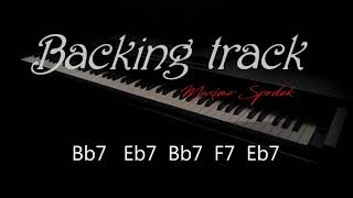 BACKING TRACK, JAZZ BLUES, BEBOP, FAST SWING Bb FOR PIANO, SAX, TRUMPET, KEYBOARDS , JAZZ GUITAR