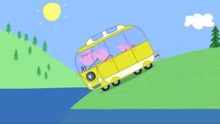 Peppa Pig   Camping Holiday  Very Hot Day