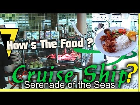 Food Onboard Royal Caribbean Cruise Ship Food Photos & Review
