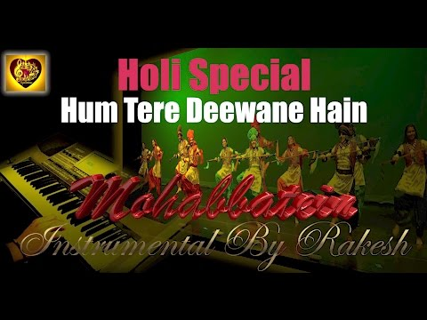 Mohabbatein-soni Soni Akhiyon Wali-Instrumental